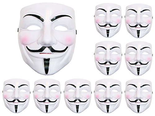 ie Vendetta Maske Anonymous Maske Fawkes Anonymous Occupy Karneval ()