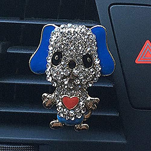 DC CLOUD Parfüm-Clip Welpenauto-Parfüm-Clip Auto Ornament Auto-Teile-parfüm-Clip Indoor Autozubehör Nützlicher Süßer Neuer Air Vent Clip Parfüm Blue - Auto-ausdrücke Vent