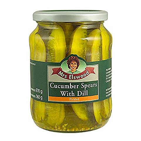 Mrs Elswood Dill Spear Cucumbers 670
