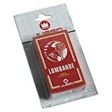 Juego Lombard Regional Playing Cards I 40 Carte Da Gioco Regionali Italiane 100% Plastica Resisitente I Originali Lombardia - Multicolore