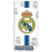 Real Madrid Toalla de Baño y Playa 100% Algodón de 75x150 ...