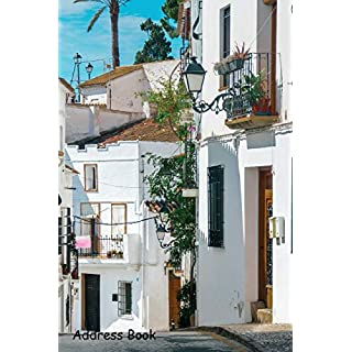 Address Book: For Contacts, Addresses, Phone, Email, Note,Emergency Contacts,Alphabetical Index With City Altea Spain