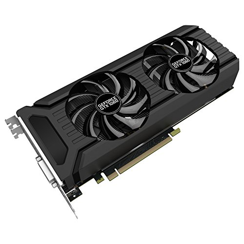 Palit NE51060015J9-1060D GeForce GTX 1060 Dual 6 GB Grafikkarte (GDDR5, 8000 MHz, 16x PCI-Express...