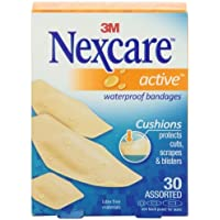 Nexcare Active Extra Cushion Bandage, Assorted Sizes, 30 ct Packages (Pack of 4) by 3M Corp (English Manual) preisvergleich bei billige-tabletten.eu