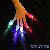 Novelty Place [Premium Quality LED Party Finger Lights for Kids (80 Pcs)