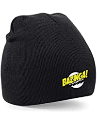 Taurus Bazinga! The Big Bang Theory Inspired Embroidered Beanie Wooly Hat Winter Fashion