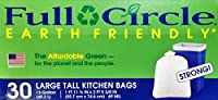 Full Circle - Large Tall Kitchen Bags - 13 Gallon (49. 2 L) - 30 Count