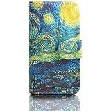 Carcasa para Galaxy S3 Neo,PU Cuero Protección Flip Case Cover para Samsung Galaxy S3 i9300/S3 Neo i9301 Funda de Piel con bolsillo de tarjeta-Tornado