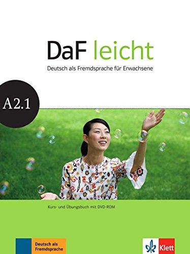 DaF leicht a2.1, libro del alumno y libro de ejercicios + dvd-rom