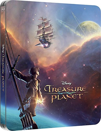 Der Schatzplanet - Treasure Planet, Disney, Steelbook, Zavvi Exklusiv, Zavvi Exclusive Limited Edition Steelbook mit deutschem Ton, Uncut, Regionfree