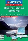 Bludenz - Schruns - Klostertal: Digital Map mit Kurzführer (KOMPASS Digitale Karten, Band 4032) -