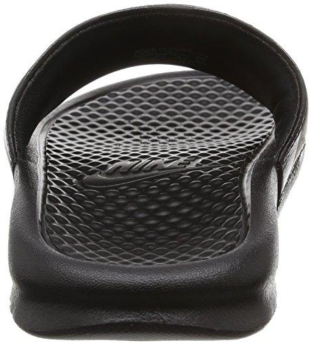 Nike Benassi JDI Slide, Sandali da Atletica Donna nero rosa
