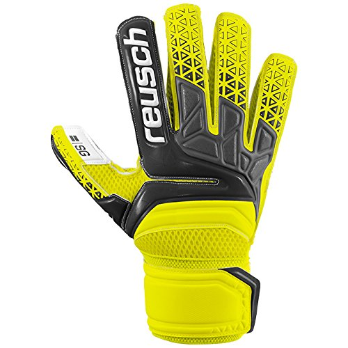 Reusch Herren Prisma SG Torwarthandschuh, Safety Yellow/Black, 9.5