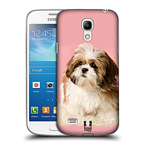 Head Case Designs Shih Tzu Puppy Popular Dog Breeds Protective Snap-on Hard Back Case Cover for Samsung Galaxy S4 mini I9190 Duos