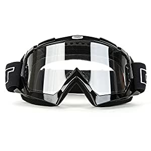 hakkin lunettes de cyclisme ski escalade randonn e pour moto cross atv chrom. Black Bedroom Furniture Sets. Home Design Ideas