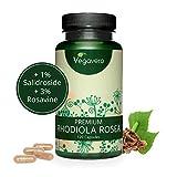 RHODIOLA ROSEA Vegavero® | 3% Rosavine e 1% Salidroside | 120 capsule | Estratto in rapporto 10:1 | Vegan