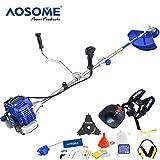 AOSOME-2in1-Outil-de-jardin-dbroussailleuse-multitool-moteur-puissant–deux-temps-avec-52ccm-30-hp-accessoires-pour-coupe-dherbe-et-dbrousailleuse
