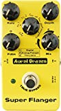 Aural Dream Super Flanger Guitar Effect Pedal with 3 modes and 6 waves including 2 feedback modes reaching 36 effects True bypass