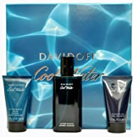 Davidoff Cool Water Homme Set with Aftershave - 75 ml, Aftershave Balm - 50 ml and Shower Gel - 50 ml