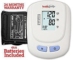 Healthgenie BP Monitor digital Upper arm BPM 01W Automatic with irregular heart beat indicator - 24 MONTHS WARRANTY