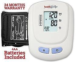 Healthgenie BP Monitor digital Upper arm BPM 01W Automatic with irregular heart beat indicator - 24 MONTHS WARRANTY