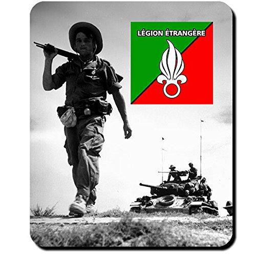 Preisvergleich Produktbild Légion étrangère Französische Fremdenlegion Indochina Vietnam Krieg Foto Soldat Legionär - Mauspad Mousepad Computer Laptop PC #9906