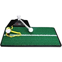 Jia He Tapetes de Golf Manta de práctica al Aire Libre Golf Swing Blow Mat Outdoor 47 × 23cm @