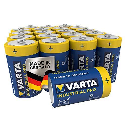 VARTA Industrial Pro Batterie D Mono Alkaline Batterien LR20 (20er pack), Design kann abweichen