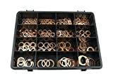 Athena m511099500000Kassette Kunststoff Unterlegscheiben, Kupfer
