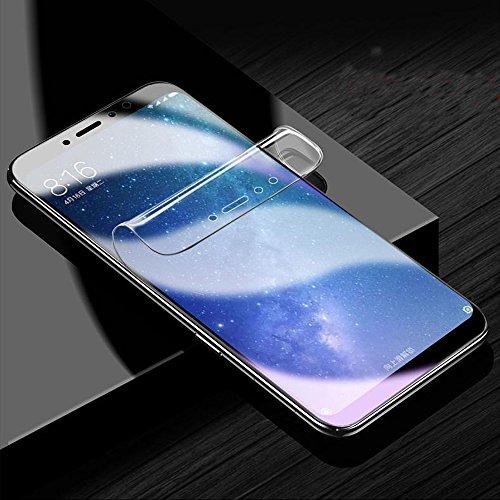 ONICO Protector Pantalla Xiaomi Mi MAX 3 (No Vidrio/Cristal Templado), 3D Auto Reparable Curvado Cobertura Completa (2 * Delantero)