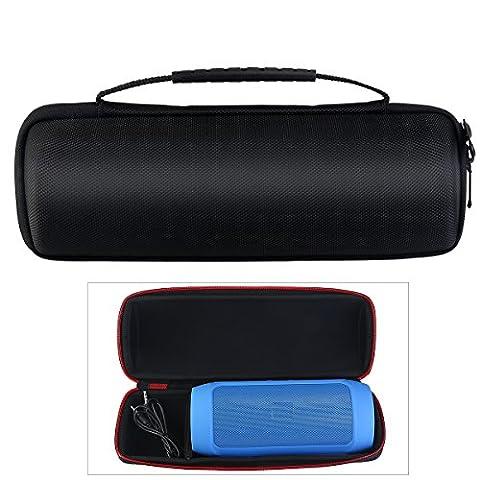 WINOMO Lautsprecher PU Tasche Case Hülle Tasche für Puls-Bluetooth-Lautsprecher JBL