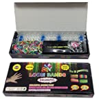 Loom Bands Friendship Bracelet Kit – 600 Latex Free Bands + 24 S-Clips
