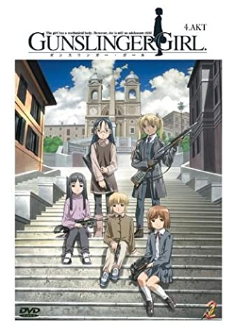 Gunslinger Girl 13 - Gunslinger Girl, Vol. 04 (Episoden 11-13 mit