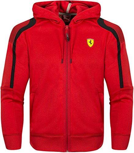 puma-ferrari-scuderia-softshell-zip-up-hoodies-red-extra-large