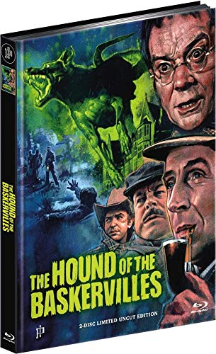 Sherlock Holmes - The Hound of the Baskervilles - Limited Edition - Mediabook  (+ DVD) [Bl Preisvergleich