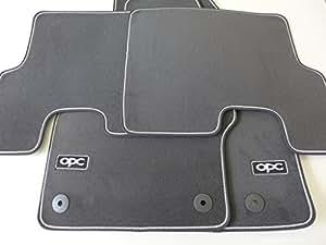 original opel opc corsa d fussmatten n rburgring edition. Black Bedroom Furniture Sets. Home Design Ideas