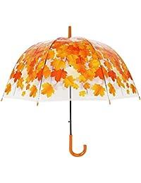 Paraguas de la Cereza, Románticas Paraguas de Burbujas Transparentes y Diseños Florales, Diseño de Tela de alta Calidad Más humano, Regalo de las Mujeres