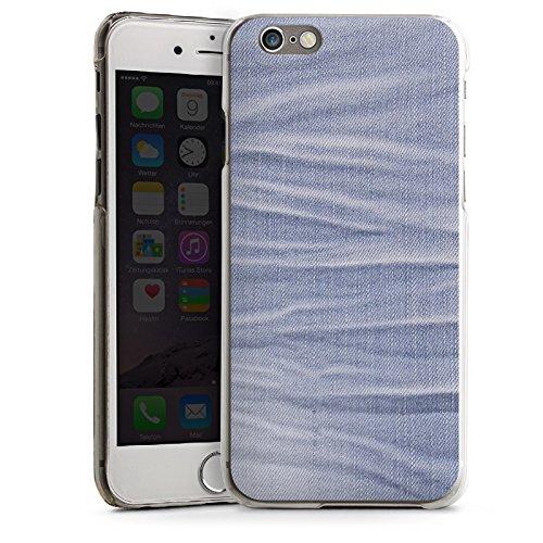 Apple iPhone 6 Housse Étui Silicone Coque Protection Jeans Style tissu Fashion CasDur transparent