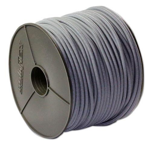 Corde extensible blanche 8 mm avec 20 crochets spirales 10 m
