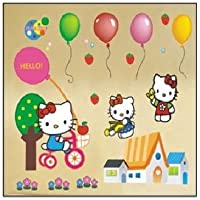 Hello Kitty pegatinas de pared