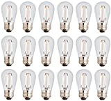 Best Improvements String Lights - Newhouse Lighting 2W S14 LED Bulbs for String Review