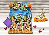 5D Chota Bheem Theme Print Queen Size Be...