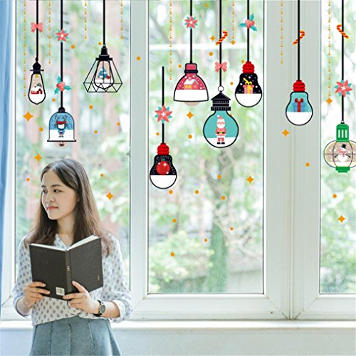 n Wandaufkleber Fenster Wohnzimmer Aufkleber Abziehbild Dekor Wand Sticker Moginp (A) ()
