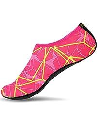 SITAILE Sommer Aqua Schuhe Barfuß Weich Wassersport Yoga Schuhe Strandschuhe Schwimmschuhe Surfschuhe für Damen Herren Kinder