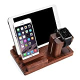 Best Megadream Tablet Phones - Megadream Natural Rose Wood Charger Dock 3 in Review