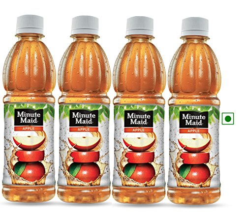 Minute Maid Apple Express Pack 400ml (pack Of 4)