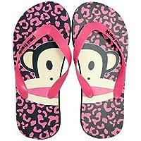 Paul Frank Flip Flops - diseño de natashia Lunt/rosa