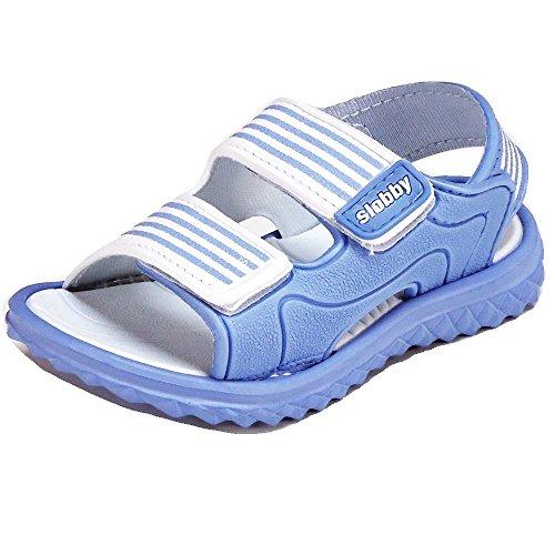 Slobby , Sandales pour fille multicolore Mehrfarbig 24-29 Bleu