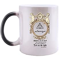 Supernatural 11 OZ Morphing Mug Heat Sensitive Color Changing 100% Ceramic Coffee/Tea Cup Morphing Mugs