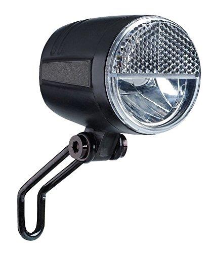 Büchel LED-Frontscheinwerfer Sport Pro, 45 Lux, mit Standlicht und Sensor, StVZO zugelassen, schwarz, 51250836